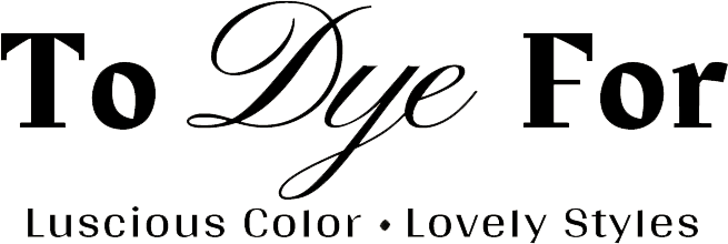 To Dye For logo. Hair salon in Hales Corners, Wisconsin - Serving the Milwaukee and Waukesha metro areas.